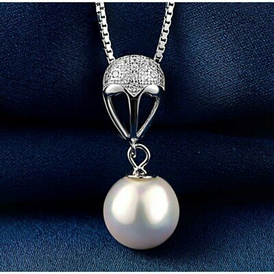 Fashion Pearl Pendant Lady Clavicle Chain Classic Charm Jewelry for Women