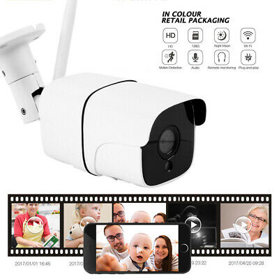 1080P Wireless WIFI IP Network Camera WiFi Night Vision CCTV IR Security Cam 2MP