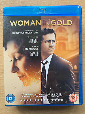 Woman in Gold Blu-ray 2015 True Life Holocaust Survivor Drama w/ Helen Mirren
