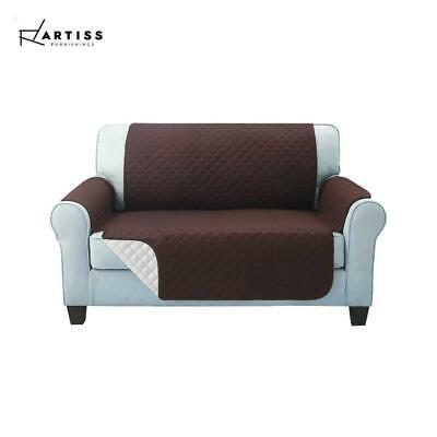 Artiss Sofa Cover Quilted Couch Covers Lounge Protector Slipcovers 2 Seater Coff