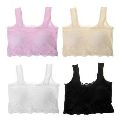 Young Kids Girls Bras UnderwearTeenager Lace Training Bras Children Puberty Bra