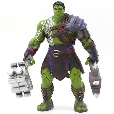 20cm HULK Superhero Marvel Avengers Bruce Banner Moving Body Toy Action Figure