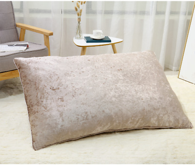 MINK Luxury Reversible Crushed Velvet DOG BEDS With Or Without Filling 2 Sizes