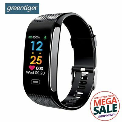 Smart Band Blood Pressure Heart Rate Sport Wristband Bracelet Watch Fitness