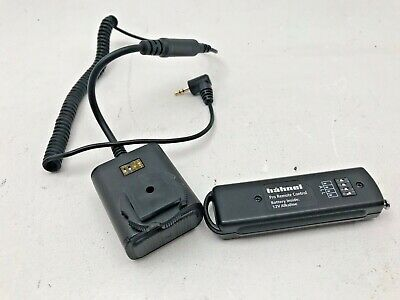 Hahnel Pro remote control transmitter and receiver for remote studio flash trigg