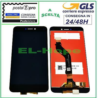 Lcd Display Huawei P8 Lite 2017 Pra-La1 Lx1 Lx3 Touch Screen Vetro Nero