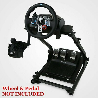 Adjustable Racing Simulator Steering Wheel Stand for Logitech G29, G27  G25 GT