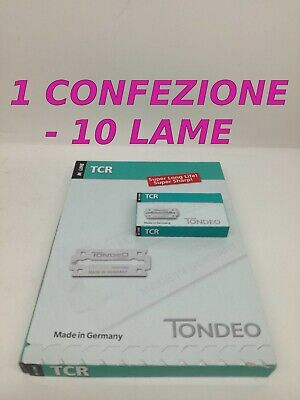 Tondeo Tcr Lame - Made In Germany - 1 X 10 Lame -