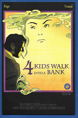 4 Kids Walk Into A Bank #1 (NM+) 2016, Rosenberg Writing Movie, Variant Cover