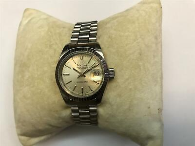 Bulova Super Seville  Calendar Automatic Ladies Watch