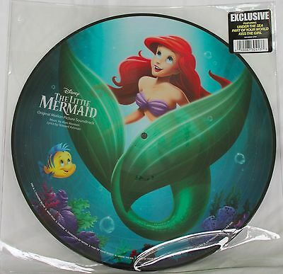 NEW Disney Parks Vinyl Record Collection THE LITTLE MERMAID (PICTURE DISC)