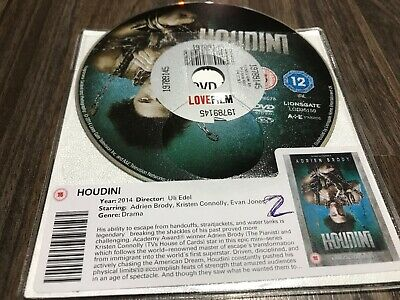 Houdini (DVD, 2014) DISC ONLY