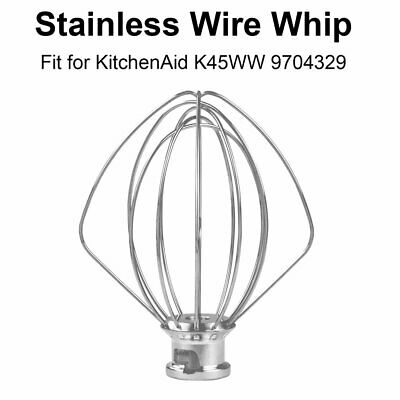 Accessory For KitchenAid Stand Mixer 4.5 QT Wire Whip  K45WW, 9704329, WP9704329