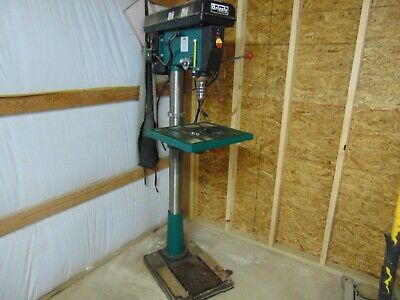 "Grizzly 20"" 12 speed Floor Drill Press G7948 1.5 HP MT4 spindle"
