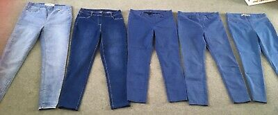 Ladies Bundle Of Jeans / Jeggings Size 16 x5