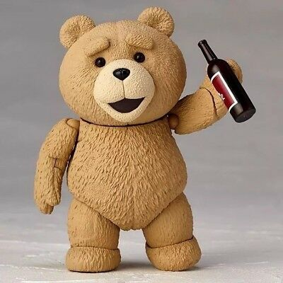 TED 2 Figur Film Teddy Mark Wahlberg Comic Bong Bär Action Sammler Kult Figuren