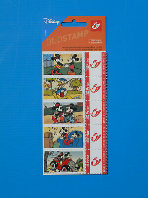Timbre Duostamp Prior – Mickey et Donald