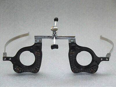 OPTICIAN EYE TEST Trial Frame Quirky Steampunk Collectable Fashion