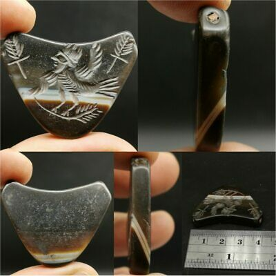 Sulaimany Agate intaglio Stone Antique Lovely Seal Stone   # 14