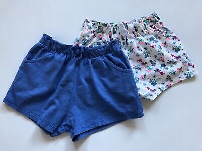 Girls 12-18 Months Next 2 Pairs Of Shorts Worn Once