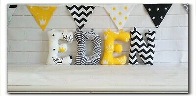 Large Nursery name letters 25 cm/ Name Banner / Nursery decor / Bunting