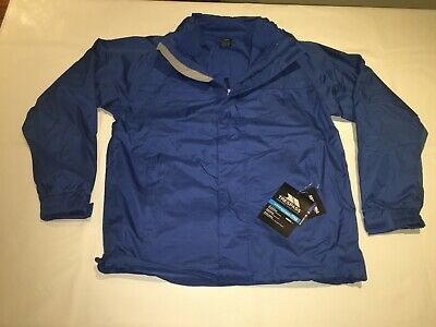 New Mens Trespass Patterson Waterproof/windproof 3-in-1 Jacket. Electric Blue.