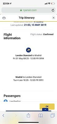 2 Direct Stanstead To Madrid Flights, Extra Bags And Allocated Seats Included