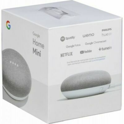 Google Mini - Google Personal Assistant - Chalk, Charcoal, Coral - Brand New!