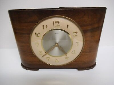 "Rare Wind Up Clock ""Time Savings Clock""  Made In England, 1966, Coin Operated"