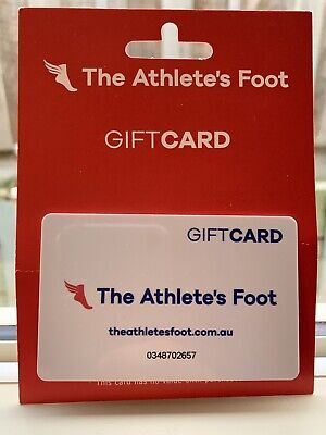 The Athlete's Foot Gift Card Voucher - Value $250, Expiry 2022