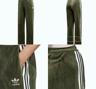 e044cbb09bf26 ADIDAS ORIGINALS VELVET Track Pants Base Green Womens Size S Dh4658