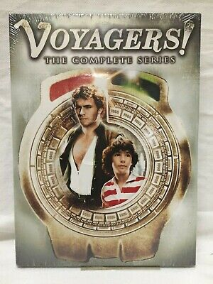 Voyagers! Complete Series~ 4 DVD Set~ New Sealed~ Jonathan Frakes Ed Begley Jr.!