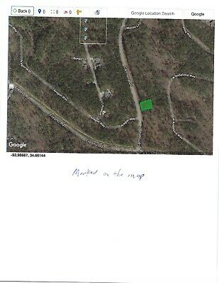 Hot Springs Village, AR unbuildable lot for sale