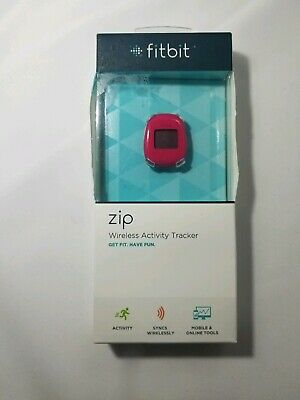 Fitbit Zip Wireless Activity Tracker - NEW (other) - RED with spare battery
