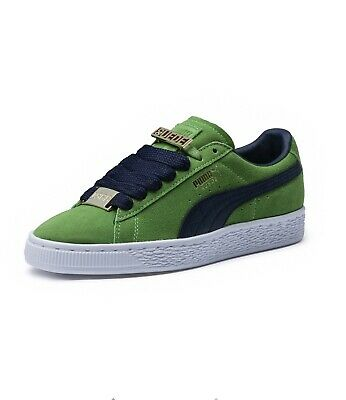 Puma Suede Classic Bboy Fabulous Sneakers - Green - Mens Size 10.5 365262 03
