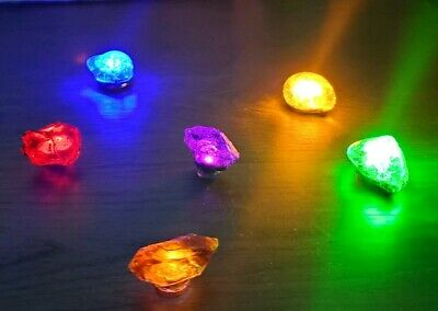 Infinity stones, power orb, and tesseract