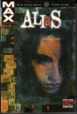 ALIAS Volume 1 Hardcover Graphic Novel (Brian Michael Bendis - 1st print - 2002)