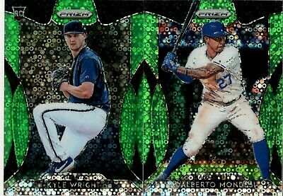 2019 Panini Prizm Lime Green Donut Circle Refractor #/199 - You Pick For Set