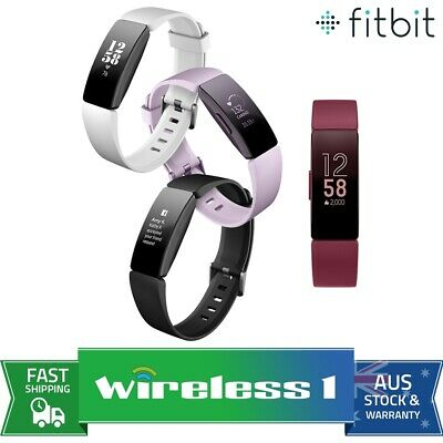 2019 Fitbit Inspire & Inspire HR Fitness Trackers - Multiple Colours