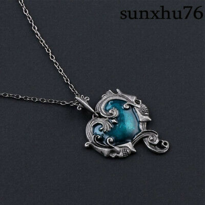 Hot Fashion Jewelry Gothic Skull Skeleton Necklace Pendant Heart Steampunk