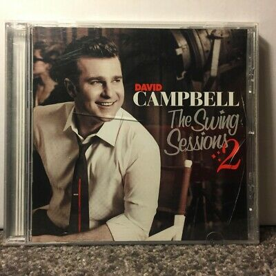 David Campbell - The swing sessions 2 AS NEW CD