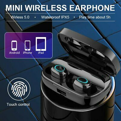 i14 TWS Wireless Earbuds Bluetooth5.0 Mini Earphone Headphone Touch Control 2019