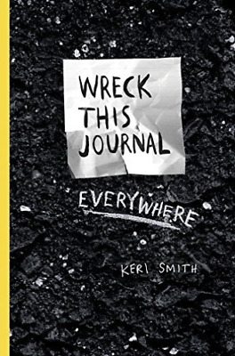 Wreck This Journal Everywhere BOOK NEW