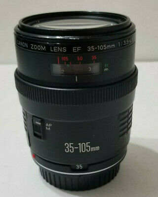 Canon EF 35-105mm f/3.5-4.5 lens for EOS 3 1V A2 Elan Rebel T5 T6 70D 60D 5D 7D