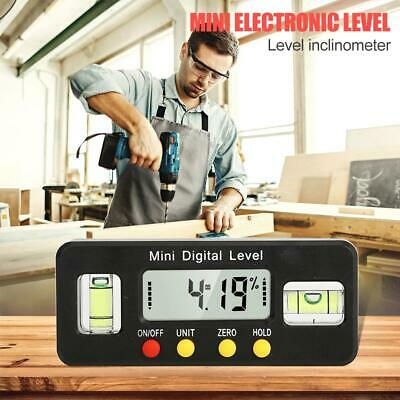 Mini Digital LCD Level Protractor Inclinometer Angle Finder Bevel Box Caliper
