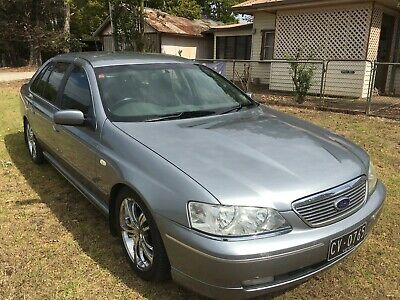 ford fairlane 2004 ba sedan 5.4 mpfi v8