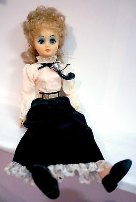 """Vintage Bell Telephone Company Operator Doll 15"""" Tall"""