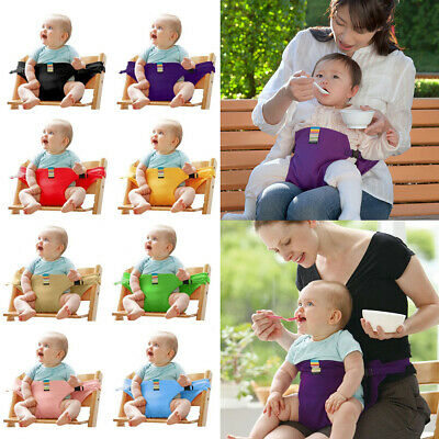 Baby Safety High Chair Dining Eat Feeding Travel Car Seat Harness Belt  8 Colors