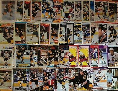 GREAT LOT of 10 CAM NEELY HOCKEY CARDS - BOSTON BRUINS