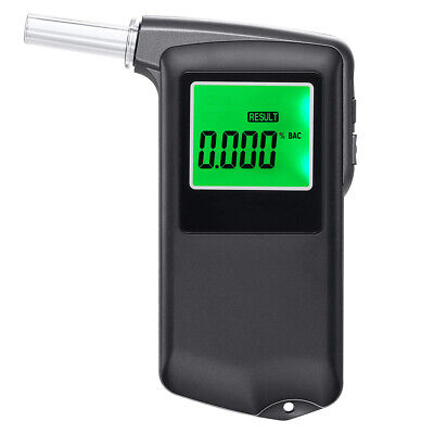 Professional Breathalyzer Portable Digital Breath Alcohol Tester Alcohol W5I6